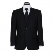 Masonic Black Herringbone Jacket