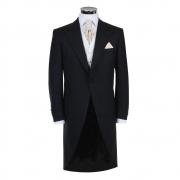 Black Herringbone Tailcoat