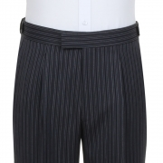 Masonic Stripe Single Pleated Trouser
