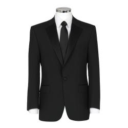 Plain Black Dinner Suit